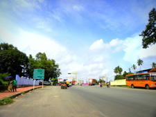 Link Road At Asramam