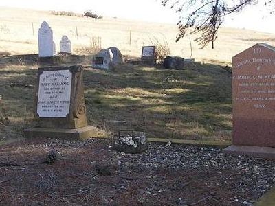 Charlie McKeahnie's Grave At Old Adaminaby Cemetery