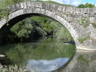 Milos Bridge In Kipi Village