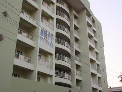 An Multi-Storey Apartment Building In Ollur Town