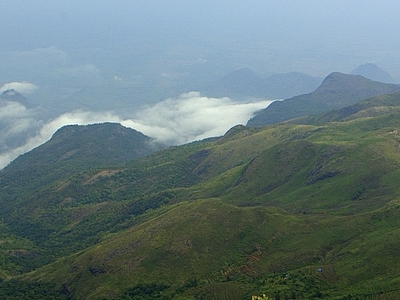 A Scenic View Of The Hills