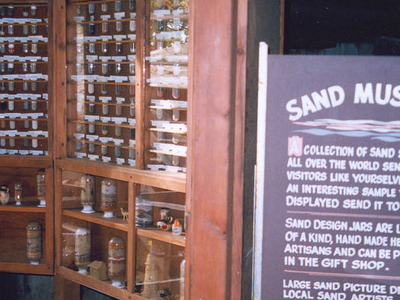 Inside The Sand Museum In Freeport