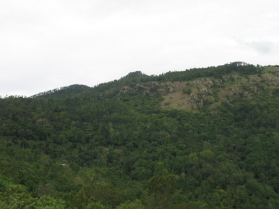 A View Of Sirumalai From The View Point