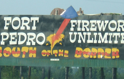 A South Of The Border Billboard