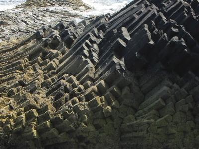 Basalt Columns On Am Buchaille