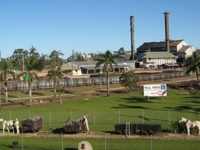The View Of Tully Sugar Mill From Golden Gumboot