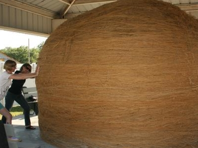 Largest Community Rolled Ball Of Twine