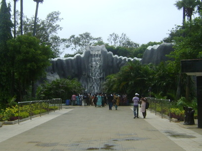The Main Entrance Of The Zoo