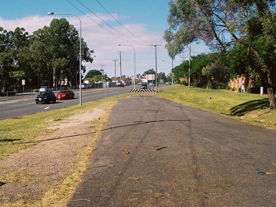 Former And Current Alignment Of Logan Road