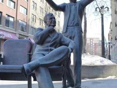 MTC Bronze Statue