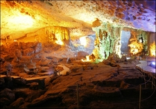 Amazing Cave Halong Bay Asia Golden Holidays
