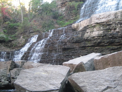 Albion Falls Kings Forest Park