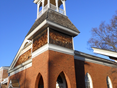 The Auburn University Chapel In Auburn