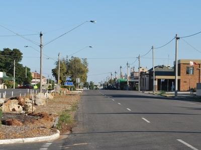 The Main Street Of Birchip