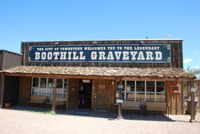 The Entrance To Boothill Graveyard