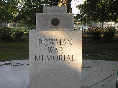 War Memorial And Eternal Flame
