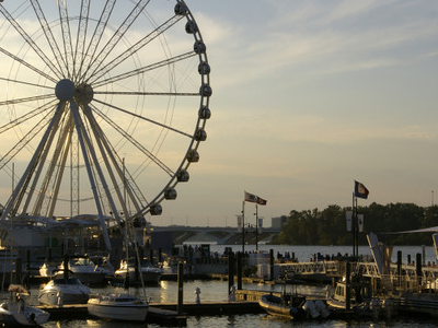 Capital Wheel, A Ferris Wheel, At National Harbor