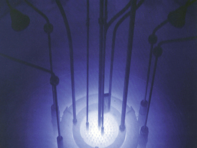 Cherenkov Radiation At Reed's Research Reactor