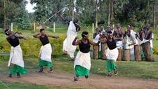 Intore Dancers Of Rwanda Entertain Travelers In Volcanoes National Park