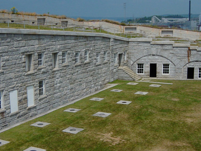 Parade Ground, Storage Vault Covers