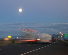 Eastbound Exit 261 Into La Grande Off Interstate 84