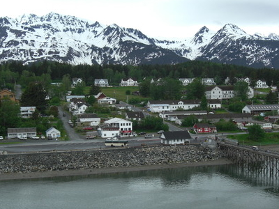 Fort William H. Seward From Chilkoot Inlet