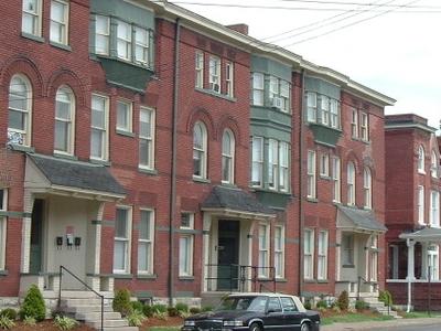 A Townhouse Along Hill Street