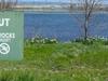 A Warning Sign At Hot Lake Springs