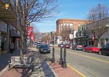 Jefferson Avenue In Downtown Moundsville