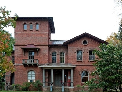 The Front Elevation Of Kenworthy Hall