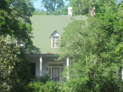 Shown Here Hidden By Trees Is Magnolia Plantation