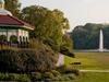 Spring House Gazebo With Mirror Lake In Background