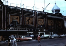 Corn Palace Side View In 1964