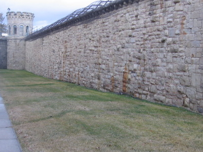 Convict-Constructed Sandstone Wall