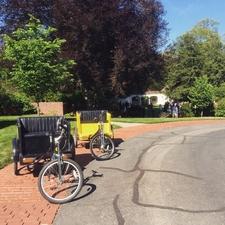 Pedicabs At A Wedding
