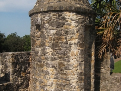 Defensive Turret Along The Walls Of The Fort