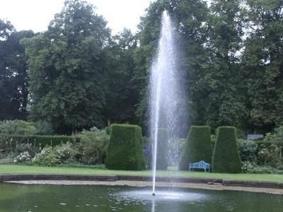 Renishaw Hall Garden