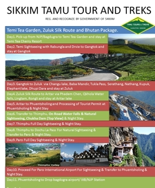 Sikkim And Bhutan Tour Package
