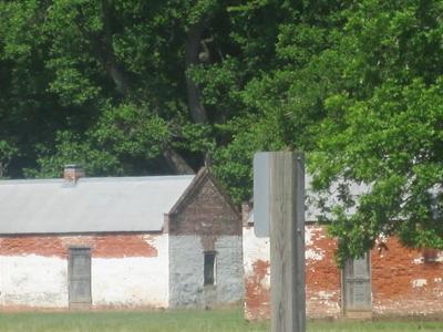 Slave Quarters At Magnolia Plantation
