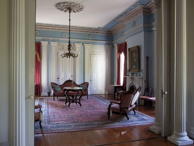 View From Drawing Room Into Rear Parlor