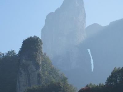 Tian  Menshan  Mountain View