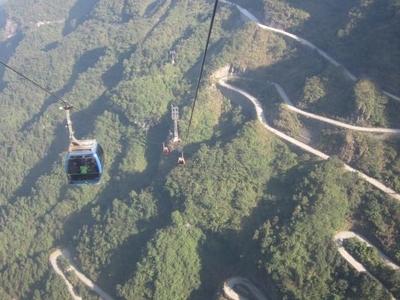 Tian Menshan Mountain Cableway