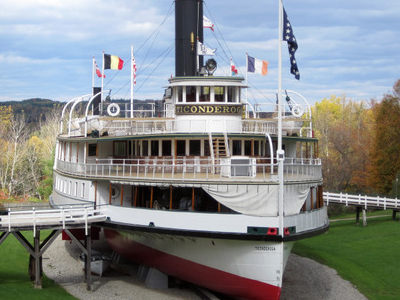 Front View Of The Ticonderoga