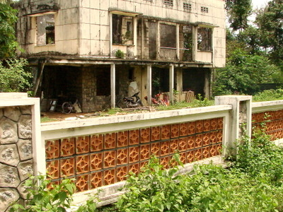An Old Building In Kep