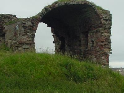 Ardrossan Castle In 2002