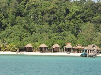 Bungalow Colony At Sok San Beach