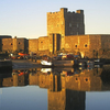 Carrickfergus Castle At Sunset