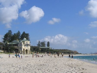 View Of Cottesloe Beach In Summer
