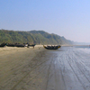 Fishing Boats On Cox's Bazar Beach