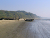 Fishing Boats On Cox's Bazar Beach